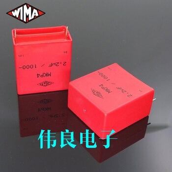 2 uds. Pie de cobre wima Original alemán MKP4 2,2 UF 1000V
