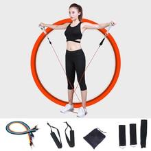 17pcs/set Fitness Exercises Resistance Bands Yoga Band Tube Set Latex Tubes Pedal Excerciser Body Training