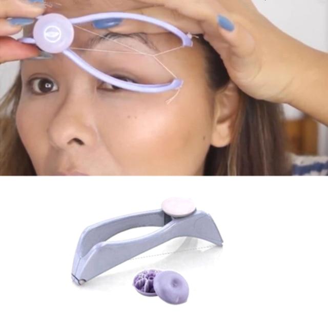 Facial Hair Remover depilador DIY Hair Spring Threading Epilator for lip eyebrows Smooth Removal Hair Removal Cream 5
