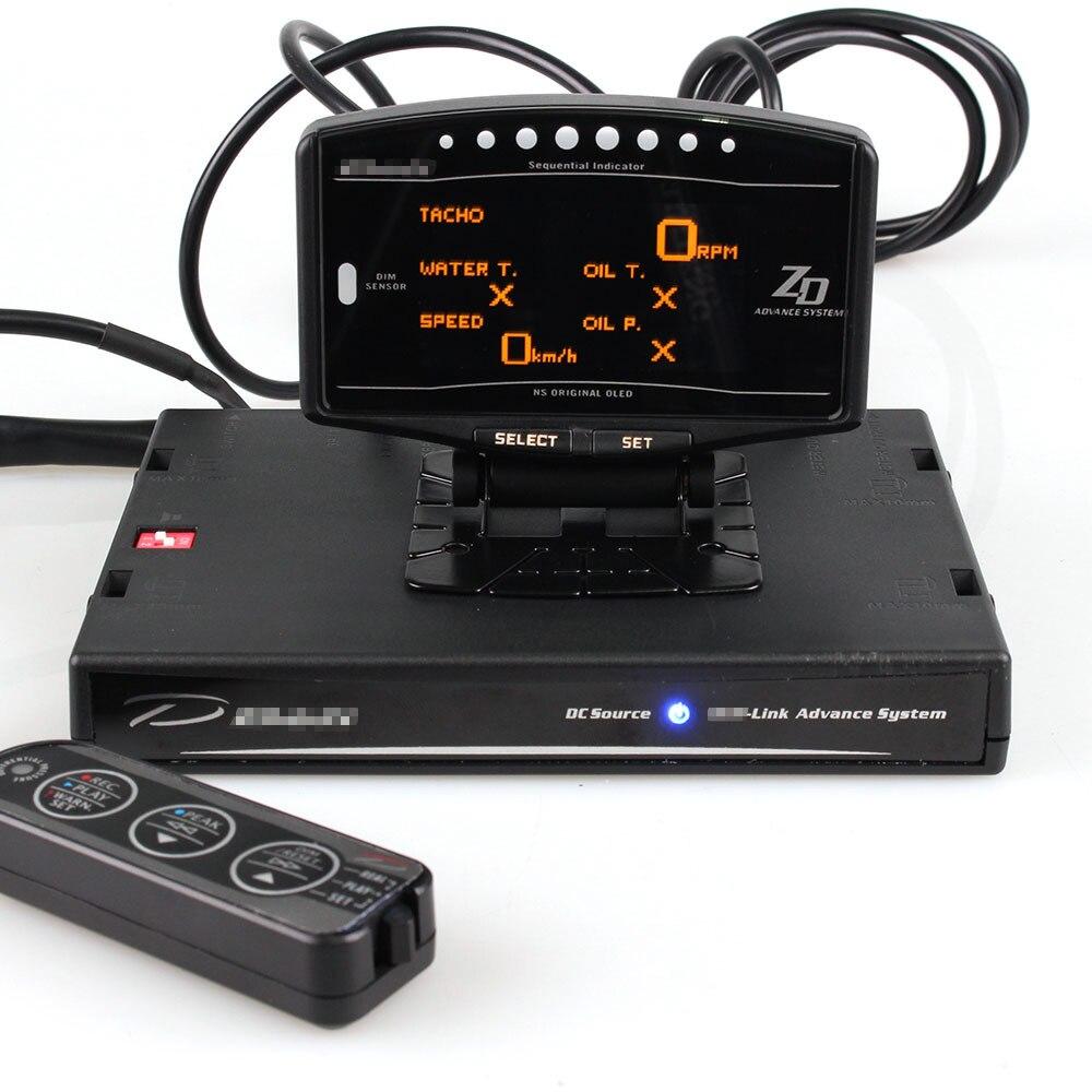 (וידאו להראות) מלא ערכת ספורט חבילה 10 ב 1 BF CR C2 DEFI מראש ZD קישור מד דיגיטלי אוטומטי מד עם אלקטרוני חיישנים