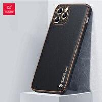 Xundd-Funda iPhone 12 Pro Max, Funda de cuero a prueba de golpes para iPhone 12 Pro Max, carcasa protectora a prueba de golpes para iPhone 12 Pro