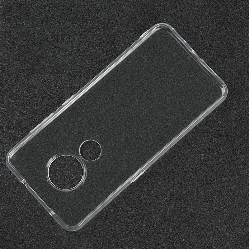 Für Nokia 5,3 8,3 5G 3,4 5,4 Transparent Fall für Nokia 7,2 TA-1181 TA-1196 für nokia 6,2 TA-1200 Telefon Zurück Abdeckung Fall Etui