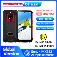"""CONQUEST S16 /S16 ATEX IP68 Waterproof Rugged Smartphone Mobile Phone 6.3"""" Display 8GB 256GB 48MP Android Smartphone Cell Phone"""