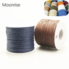 Waxed Bracelet String Beading Necklace Jewelry Thread Cotton-Cord 1mm Braided Findings-Making