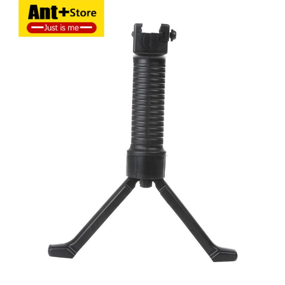 Tactical Rifle Grip Vertical Grip Military Issue Bipod Picatinny