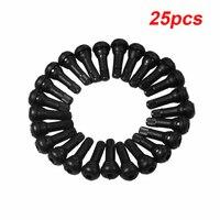25 peças conjunto de válvula hastes curtas acessórios reposição substituição borracha pneu carro tr413