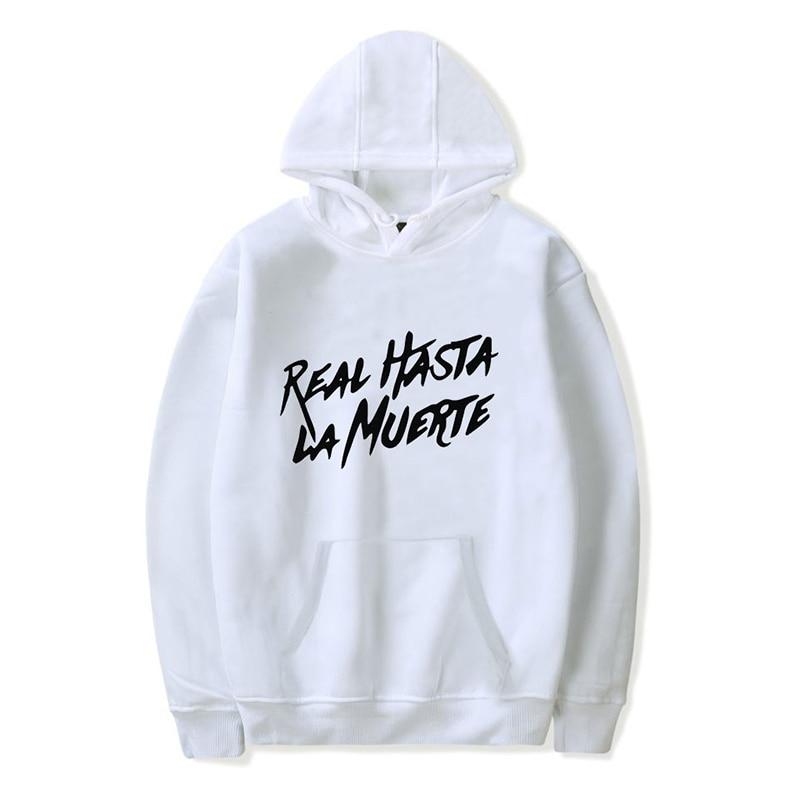 New Fashion Sweatshirt Anuel AA Album Real Hasta La Muerte Hoodie Men/women/kids Hip Hop Hoodie Hot Sale Male/ladies Kpop Hoody
