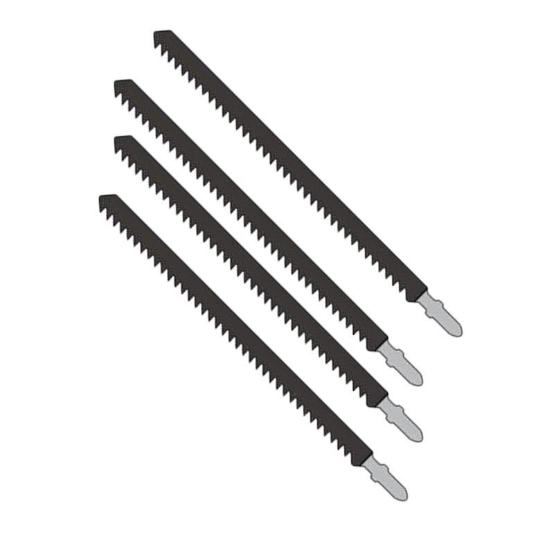 4 Pcs 6TPI Jigsaw Blades Set Metal Plastic Wood Jig Saw Cutter Tools 180Mm Long For AEG, For ARGES, For Black And Decker,ETC