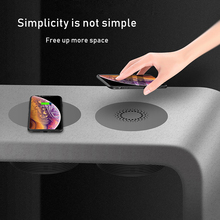 QI Wireless Charging Pad charger Desk Concealed powstro Long Distance Charger Coffee Furniture Office Desktop Hide Wireless Base
