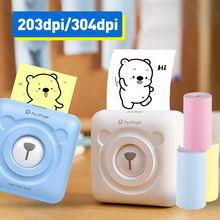 Portable Thermal Bluetooth Printer 58mm Mini Wireless POS Picture Photo Printer Android iOS Mobile Phone Printing Peripage A6