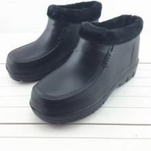 Waterproof Shoes Rain-Boots Labor-Protection Kitchen Garden Lightweight Woman Thick EVA