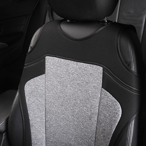 Image 3 - AUTOYOUTH 2pcs Universal Car Seat Covers   Front Seat Covers Mesh Sponge Interior Accessories T Shirt Design   for Car/Truck/Van