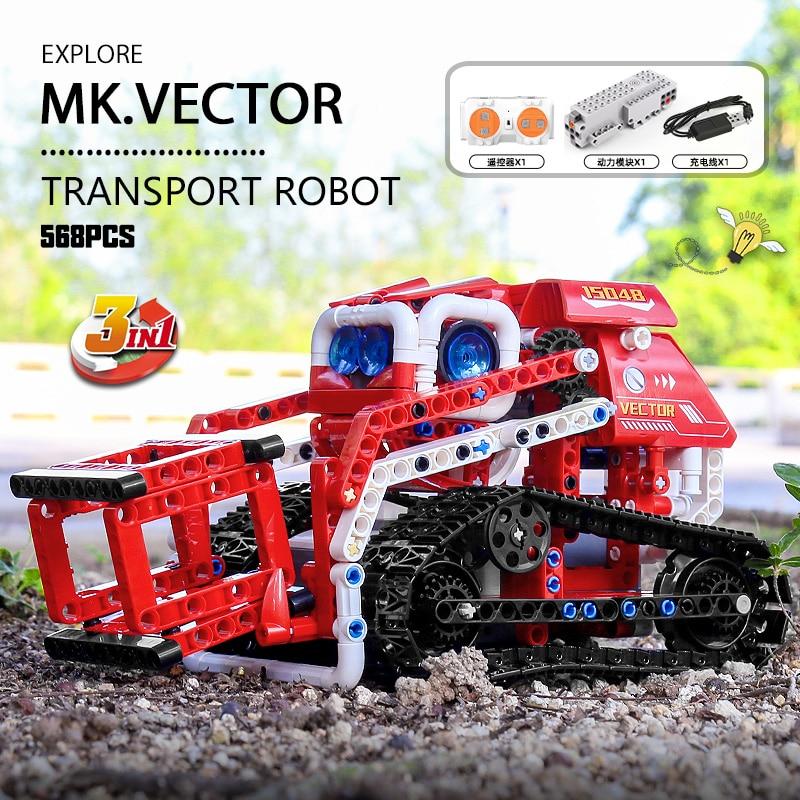 MOULD KING 15048 High-Tech Toys The APP RC Control Power Exploration Car Model Building Blocks