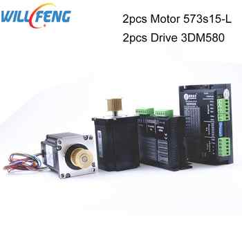 Will Feng Leadshine Stepper Motor Driver 3DM580 And Stepper Motor 573S15-L 4Pcs /set For Co2 Laser Engrave Machine - DISCOUNT ITEM  0% OFF All Category