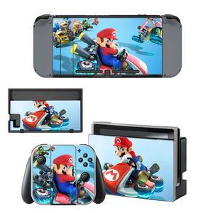 Image 4 - Mario kart Nintendoswitch peau nintention interrupteur autocollants décalcomanie pour Nintendo Switch Console Joy con contrôleur Dock peaux vinyle