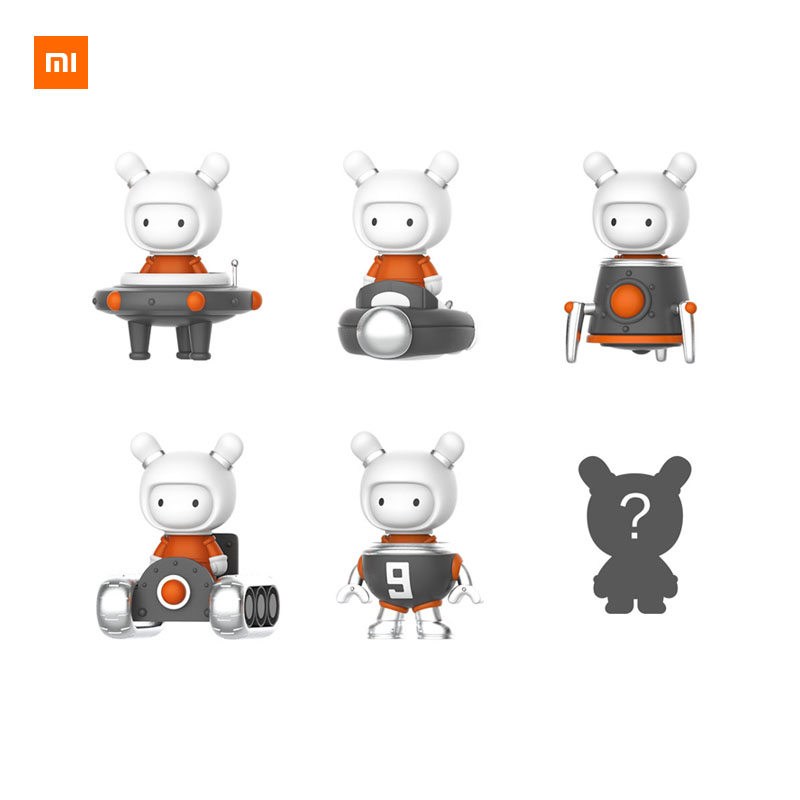 xiaomi yppNewest Xiaomi MIJOY Mitu Doll Exploring Moon Series Technology Brand new rice rabbit Cute Toy Gift for Kids Child Smart Remote Control     - title=