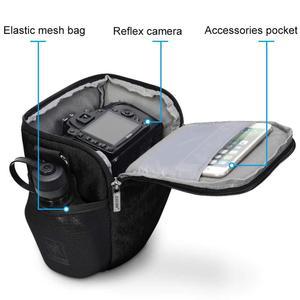 Image 4 - Waterproof DSLR Camera Bag Photo Digital Case for Canon EOS 4000D Panasonic S5 S1 S1R S1H G9 FZ2500 FZ2000 Nikon P1000 P950 P900