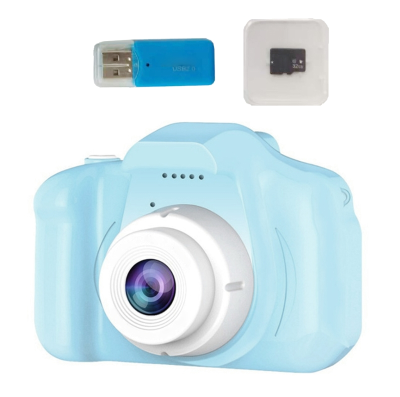 Children Kids Camera Mini Educational Toys For Children Baby Gifts Birthday Gift Digital Camera 1080P Projection Video