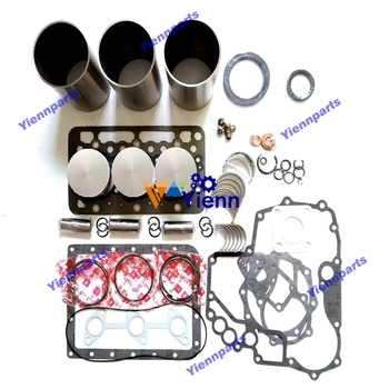 D1302 Overhaul Rebuild Kit For Kubota Diesel Engine Kit Cylinder Liner Piston With Ring Bearing Full Gasket Kit