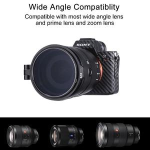 Image 4 - UURig RFS ND Filter Quick Release DSLR Camera Accessory Quick Switch Bracket for 58mm 67mm 72mm 77mm 82mm DSLR Lens Adapter Flip