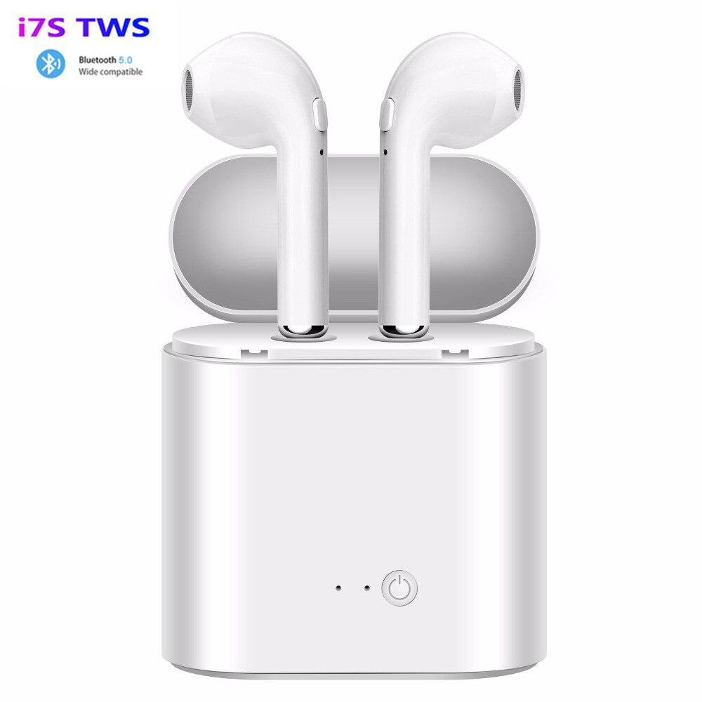 I7s Tws Bluetooth-наушники; Мини беспроводные наушники; Спортивные наушники; Handsfree-гарнитура; Беспроводная гарнитура с зарядным устройством для Xiaomi...