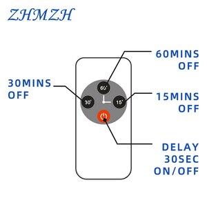 Image 2 - 110 فولت 220 فولت التحكم عن بعد الأشعة فوق البنفسجية تعقيم مصباح 38 واط UV تطهير ضوء عالية الأوزون UVC مصباح مبيد للجراثيم