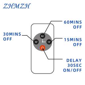 Image 2 - 110V 220V שלט רחוק אולטרה סגול לחיטוי מנורת 38W UV חיטוי אור גבוהה אוזון UVC קוטל חידקים מנורה