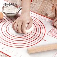Tapete de silicona antiadherente para hacer pasteles o pizza, utensilio de cocina, herramienta de cocina, utensilio para hornear, accesorio para amasar