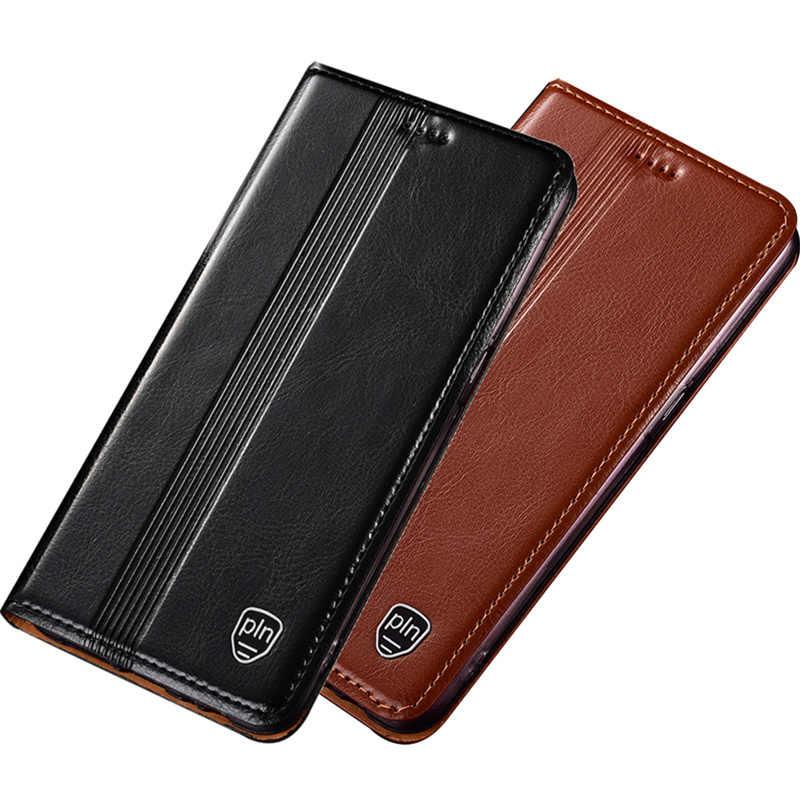 ビジネス本革磁気電話ホルダーケース funda Huawei 社の名誉 10/Huawei 社の名誉 10 Lite フリップカバーカードスロットホルダー