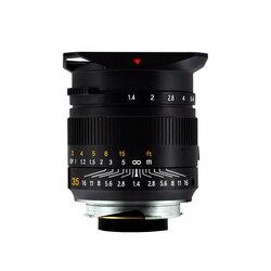 TTArtisan 35mm F1.4  Full Fame Lens for Leica M-Mount Cameras Like Leica M-M  M240  M3  M6  M7 M8 M9 M9p M10