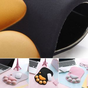 Image 5 - High Quality Cute Cat Paw Mouse Pad Nonslip Silicone Mice Mat PC Computer Wrist Rest Support