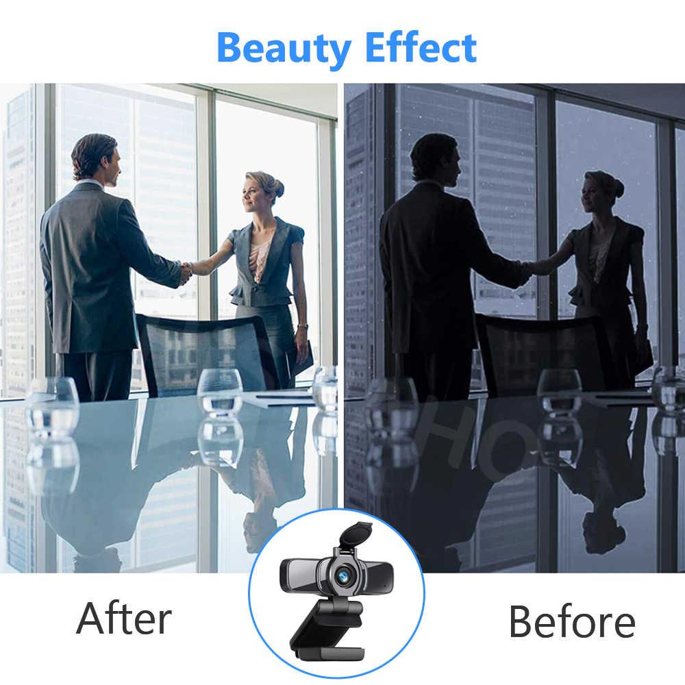 HD 1080P веб-камера USB 2,0 ПК веб-камера широкоформатное видео с микрофоном для компьютера ПК ноутбука Tab Live Streaming Conferencing