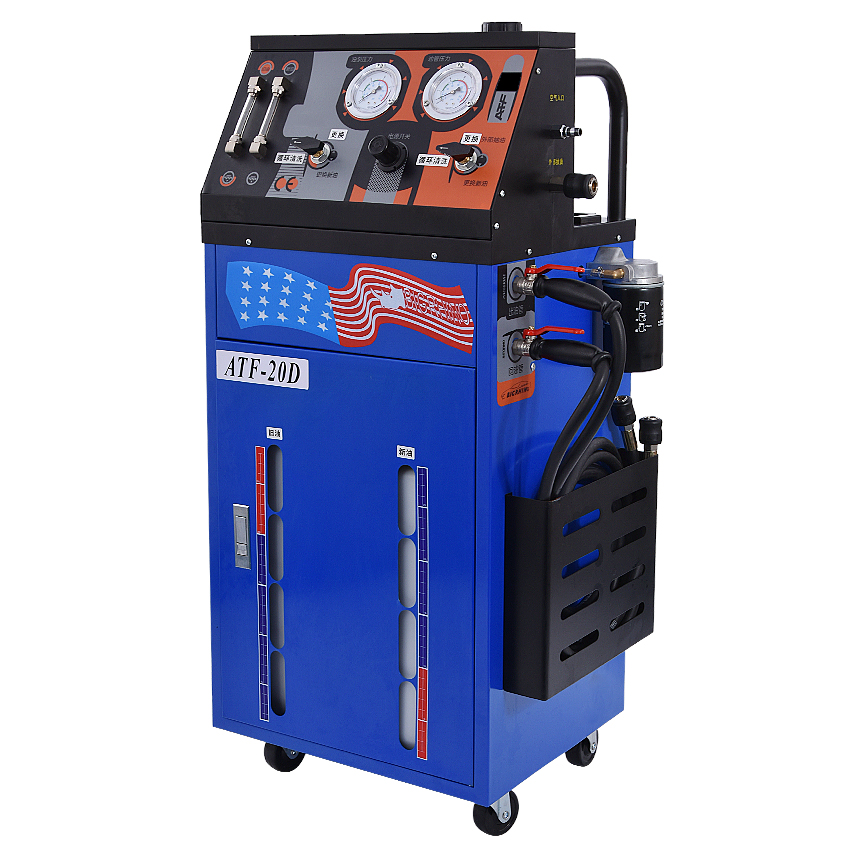 ATF-20D/ATF-20DT Electric Auto Gearbox Oil Exchange Cleaning Machine Automatic Transmission Gearbox Oil Changer 0-60PSI DC12V