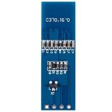 цена на IIC I2C 0.91 128x32 Blue OLED Display Module DC 3.3V ~ 5V For PIC Arduino