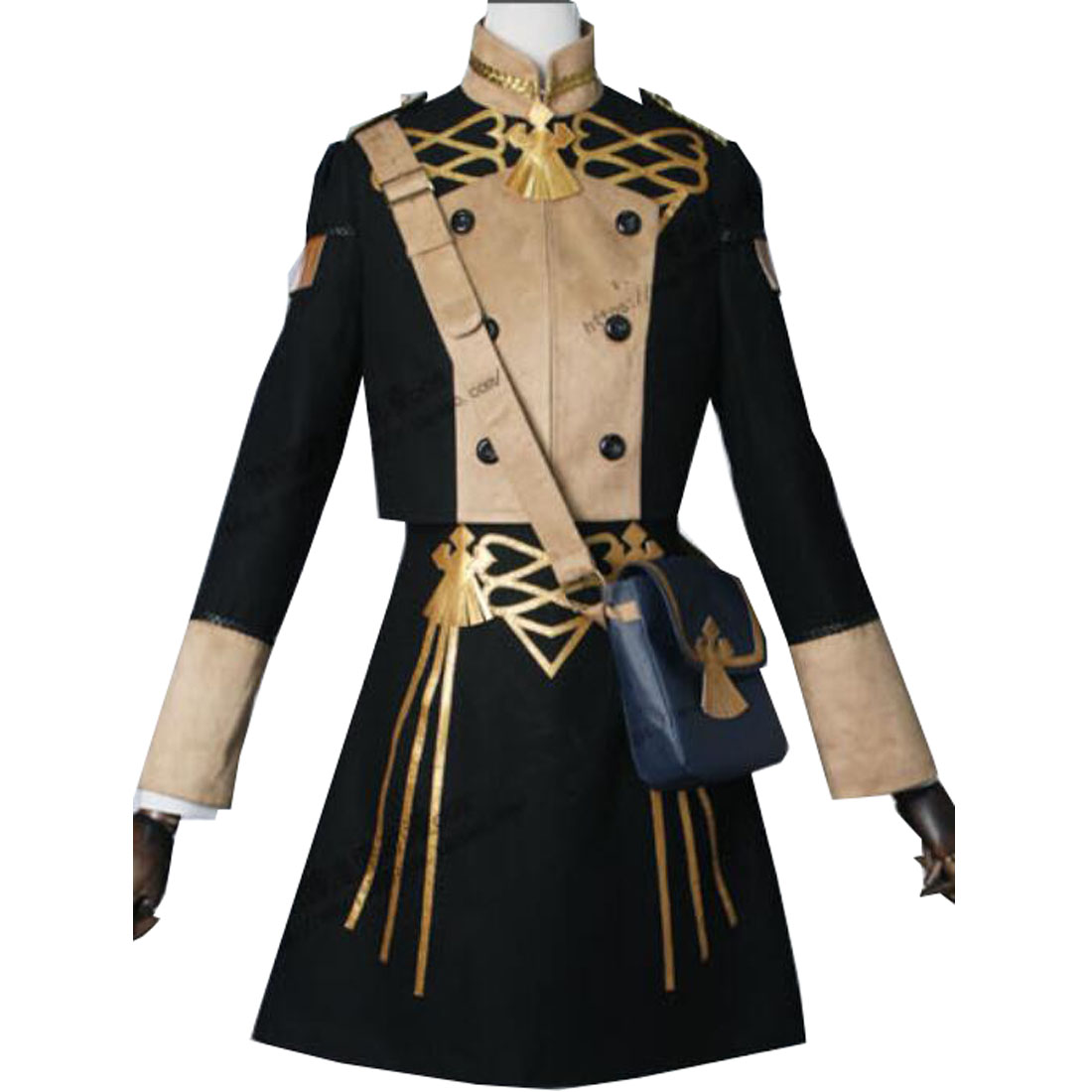 Fire Emblem Three Houses Edelgard Fancy Battle Stage Girls Cosplay Costume Mercedes Leonie Annette Hubert Edelgard Multi-Styles