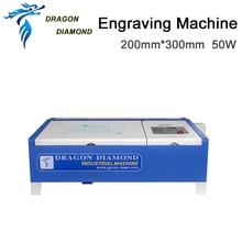 Купить с кэшбэком high quality 200mm*300mm desktop mini laser engraving machine LZ-M40