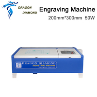 40w 50W CO2 Laser Engraving Cutting Machine Engraver LZ M40B