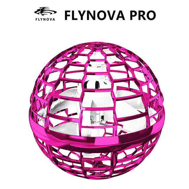 Flynova Pro Drone Boomerang Flying Ball Spinner Flyorb Hand Operated Fly Fidget Toys for Children Kids Adult Dropshipping 1