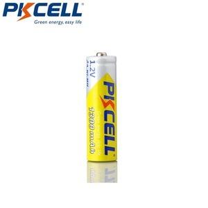 Image 3 - 4 قطعة/PKCELL AA بطارية قابلة للشحن AA 1.2 فولت ni mh 2A 1300 مللي أمبير بطاريات AA مع 1 صندوق علبة بطارية ل DVD Mp3 كاميرا رقمية