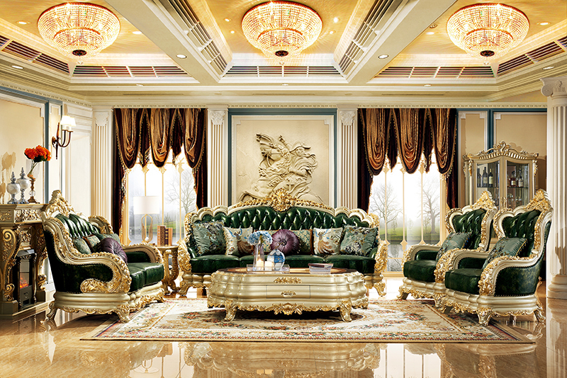 Luxury Antique Living Room Furniture Hand Carved Wood Gold Tv Stand Living Room Sets Aliexpress