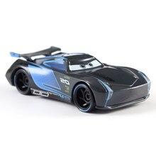 Disney Pixar тачки 2 3 молния маккуин мэтер джексон шторм рамирес 1:55 литые автомобили металлические черные джексон мальчик детские игрушки подаро...
