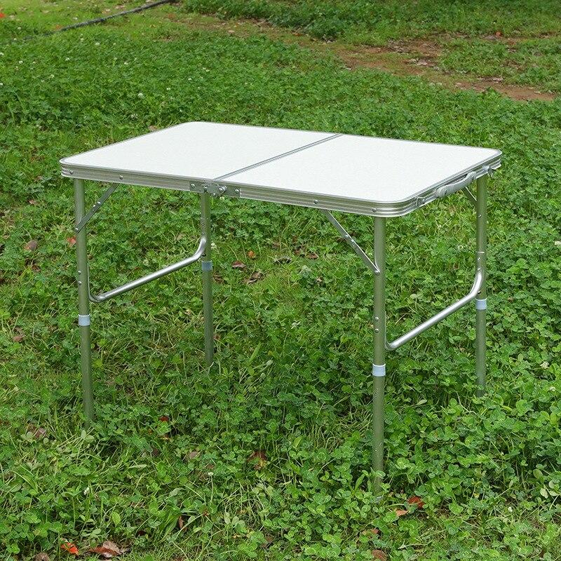 Wholesale 90X60 Outdoor Folding Table Self-driving Travel Table Portable Stall Folding Table Advertisement Propaganda Business D