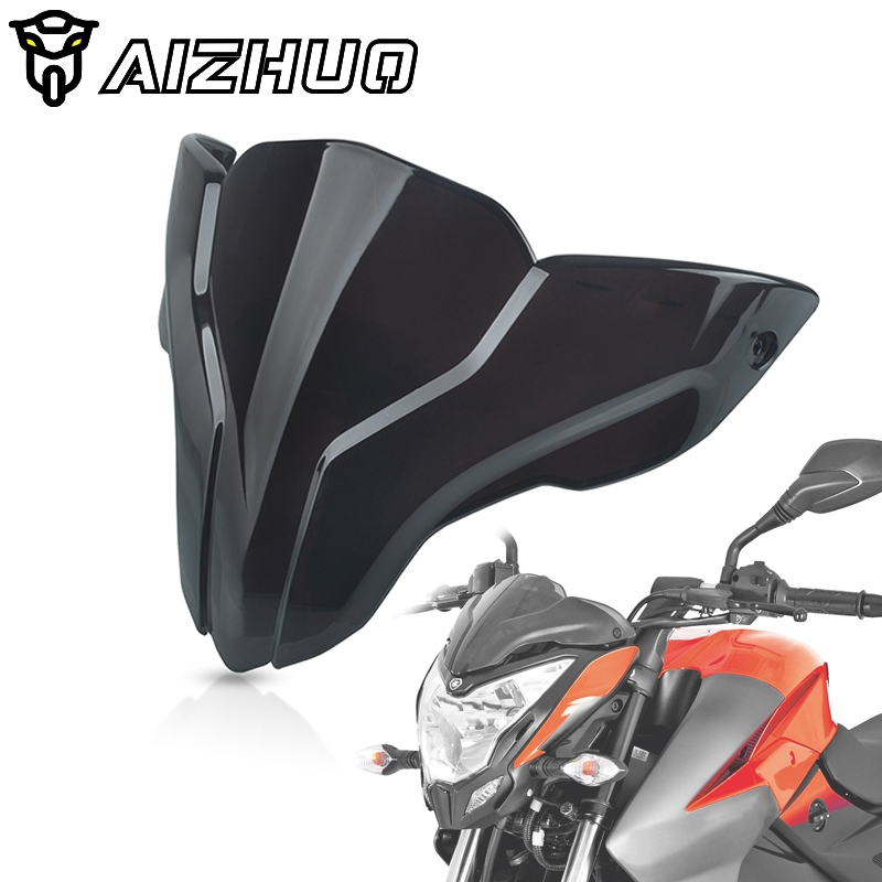 For <font><b>BAJAJ</b></font> <font><b>Pulsar</b></font> NS200 <font><b>NS</b></font> <font><b>200</b></font> Motorcycle Windscreen Windshield Deflector Protector Motorbike Front Wind Screen Accessories image