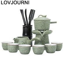 Do Kuchni Gongfu Kung Fu Garden Ev Dekorasyon Aksesuarlar Teapot Pot Teaware Home Decoration Accessories Chinese Tea Set