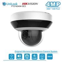 HIKVISION OEM 4MP PoE IP Camera PTZ 2.8 ~ 12 Mm 4X Zoom Hỗ Trợ Âm Thanh 2 Chiều Mạng PTZ Cam Hồng Ngoại 20 M IP66 H.265 + PTZ-N2404I-DE3