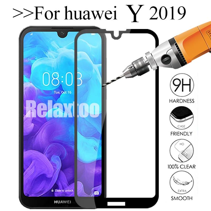 protective glass For huawei y6 y7 pro y9 prime y5 2019 svreen protector on huawey y 5 6 7 9 6y 5y 7y 9y tempered glas cover Film(China)