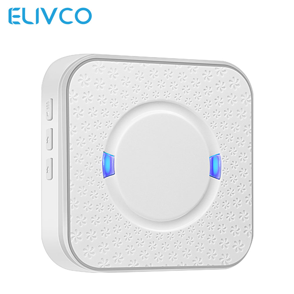 433MHz Chime Ding Dong Wifi Smart Video Doorbell Receiver 52 Chimes 110dB AC 90V-250V Indoor Intercom Door Bell Receiver
