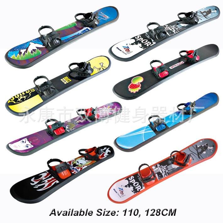2019 vente chaude multifonction Double-bo à planche unique Skis pour enfants Freestyle Skis plein air sauvage snowboard