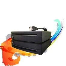 Супер тонкий USB внешний Автомобильный CD DVD-плеер совместимый с ПК светодиодный TV MP5 мультимедийный плеер Android стерео автомобильные аксессуар...