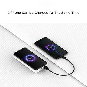 Image 5 - Xiaomi sans fil batterie dalimentation 10000mAh jeunesse WPB15ZM USB C Mi Powerbank 10000 Qi rapide sans fil chargeur Portable charge pauvreté